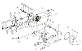 willys jeep parts diagrams illustrations from midwest jeep willys front axle dana 25 27