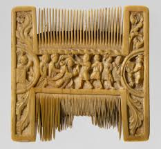 double sided ivory liturgical comb scenes of henry ii and  double sided ivory liturgical comb scenes of henry ii and thomas becket work of art heilbrunn timeline of art history the metropolitan museum of