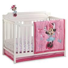 girls bedroom disney minnie mouse crib bedding set bedroom room decor twin comforter nursery themed girls