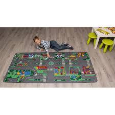 childrens factory city play carpet
