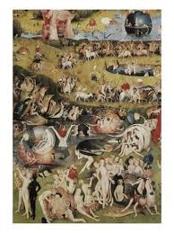 garden of earthly delights poster. The Garden Of Earthly Delights Poster H