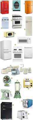 Reproduction Kitchen Appliances 25 Best Ideas About Retro Kitchen Appliances On Pinterest