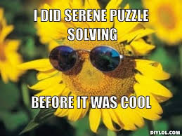 Hipster Flower Meme Generator - DIY LOL via Relatably.com