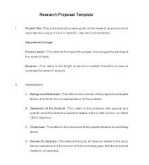 New Project Proposal Template Format Of A Project Proposal Idm Group Co