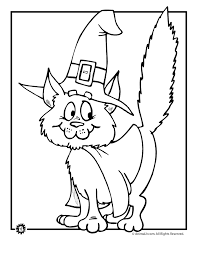 Small Picture Black Cat Coloring Coloring Pages