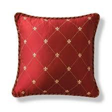 Cambridge Corded Fleur-de-Lis Decorative Pillow   Frontgate