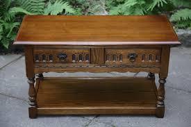 an old charm light oak 2 drawer side