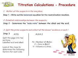 Titration Formula Titrations Calculations Ppt Video Online Download
