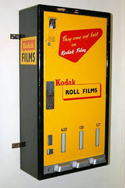 Antique Vending Machine Enchanting Cool Vintage Vending Machine Produced Kodak Roll Films