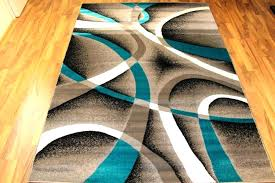 modern abstract area rugs abstract area rugs awesome turquoise area rug bedroom turquoise and grey area
