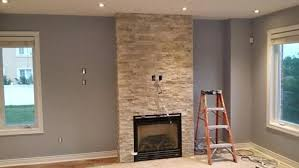 stone fireplace with tv stone fireplace tv wall mount