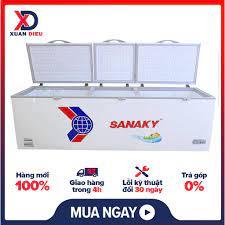 Tủ Đông SANAKY Inverter 900 Lít VH 1199HY3 Dung tích 1000 lít lưu trữ được  lượng lớn thực phẩm