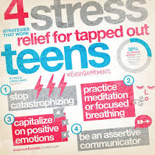 best teen stress ideas stress management 4 stress relief strategies not just for teens