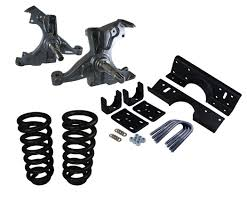 All Chevy chevy c10 suspension kit : Deluxe Lowering Kit for '73 to '87 Chevy / GMC C10 with a 1 1/4 ...