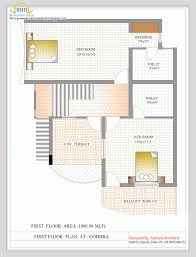 1st floor house plan india floor house plans keralary narrow lot india design bedroom doubl on
