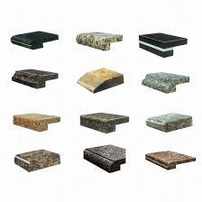 granite edge styles