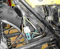 powerdynamo assembly instruction for yamaha dt250 360 400 ty250 8 when you removed the old system a white plastic connector that was connected to the old stator is left on the harness just under the oil tank