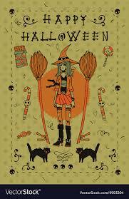Photo Invitation Postcards Happy Halloween Postcard Invitation