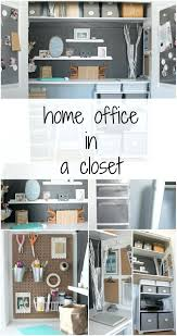 Office Design : Home Office In Closet Small Walk In Closet Office ...
