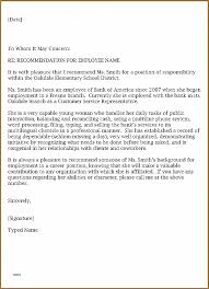 6 letter name letter of recommendation unique how to write a letter of