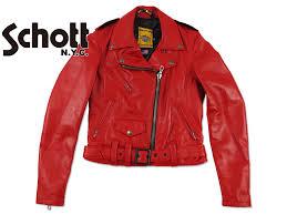 granti rakuten global market shot schott 218 w leather one star women s double ray dozen red women s leather jacket united states made in usa