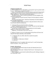 Chart Note Using History And Physical Style 40 Fantastic Soap Note Examples Templates Template Lab