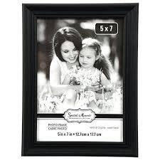 Positive Bulk Picture Frames 5 X 7 R44861 Elegant Grooved Black