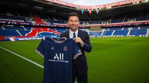 Leo Messi signs for Paris Saint-Germain