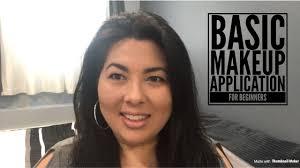 basic makeup application tutorial for beginners