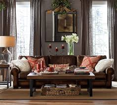 living room ideas leather furniture. turner leather couch 109 inc roll arm living room ideas furniture