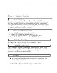 Cover Letter Career Objective For It Resume Career Objective For