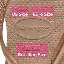 Flip Flop Size Chart Uk Heres A Helpful Size Guide For Havaianas Flip Flops
