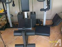 Weider Pro 4850 Exercise Chart Weider Pro 4850 Home Gym Classifieds Buy Sell Weider Pro
