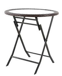wicker accent table threshold wicker patio accent table