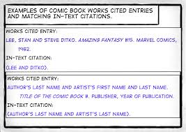 How I Want You To Cite A Comic Book Composition 1