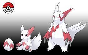 In-Progress Pokemon Evolutions — #335 Mega: Though Zangoose are immune to  their...