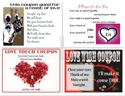 4 Free Love Coupons For Valentines Day Lovetoknow