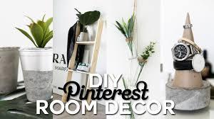 Diy Room Decorations Diy Pinterest Inspired Room Decor Minimal Simple Imdrewscott