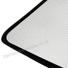 coosun blue trippy area rug carpet non slip floor mat doormats for living room bedroom