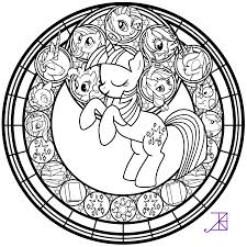 Small Picture stained glass coloring pages