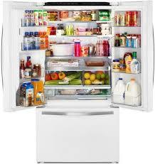 whirlpool french door refrigerator white. whirlpool wrf992fifh - white ice french door refrigerator c