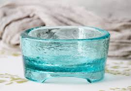 recycled glass pet bowl by osh