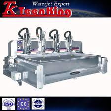 multi heas jpg 3 axis marble waterjet cutting machine