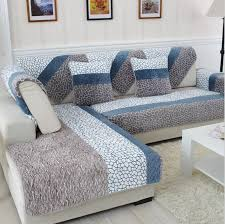 sofa covers. Brilliant Covers 1 Piece Fleeced Fabric Sofa Cover European Style Soft Modern Slip Resistant  Slipcover Seat Couch With Covers E