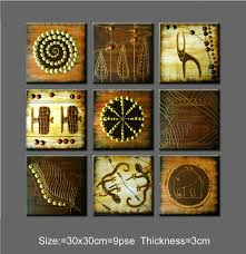 Small Picture Wall Art Decor Abstract Art Wall Arts For Sale African Painting