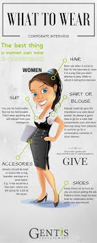 gentis what to wear for a corporate interview infographic what to wear corporate interview women