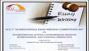 legal essay competition on global climate law and governance northcap university 1st international essay writing competition 2018
