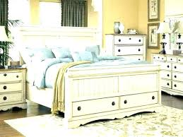 Distressed Bedroom Furniture Rustic Painted White Vintage Look ...