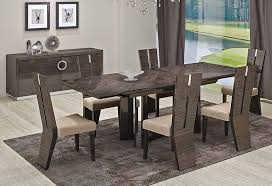 modern dining rooms. Imposing Design Modern Dining Room Set Fancy Italian Furniture Rooms P