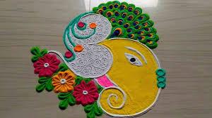 Easy Cartoon Rangoli Designs Diwali Rangoli Designs Beatiful Patterns Of Indian Rangoli